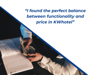 Apartment rental management - I found the perfect balance between functionality and price in KWHotel