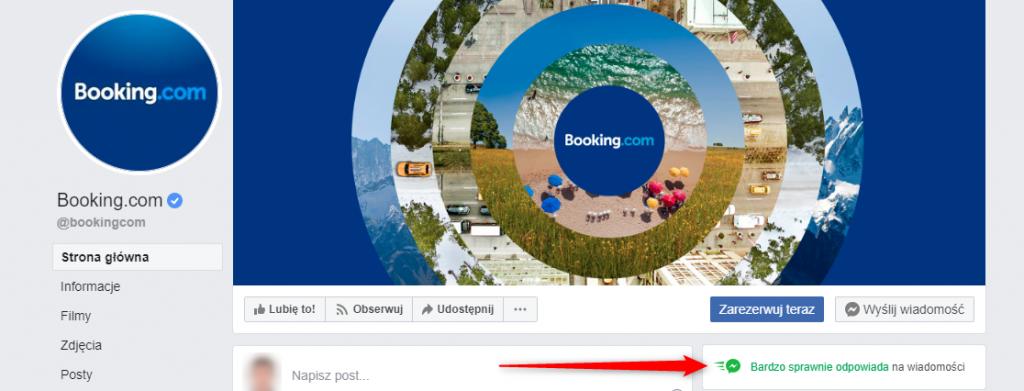 Booking.com dba o budowanie marki w social media