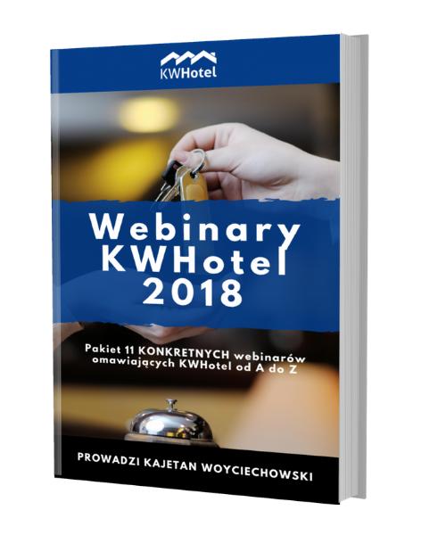 Pomoc techniczna KWHotel - webinary KWHotel 2018